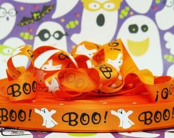 "5/8"" Halloween Grosgrain Ribbon"