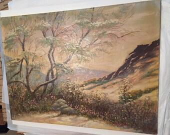 Original Arnold Vail ~ Landscape Impressionist Oil Painting