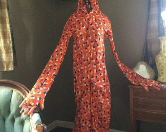 Vintage 70's Clown Suit… ACTUAL costume worn by entertainer for CLUB MED