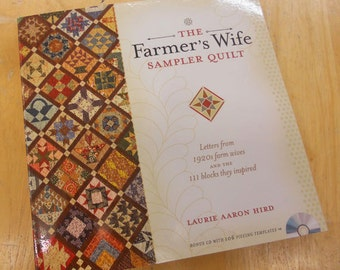 The Farmer's Wife Sampler Quilt book by Laurie Aaron Hird