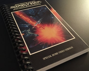 STAR TREK The Undiscovered Country VHS Notebook