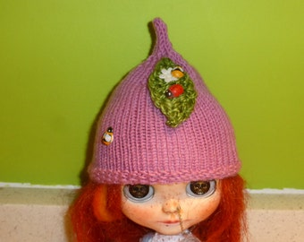 Blythe Cute Knitted Bug Hat  (BD4916)