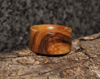 Wood Ring Size 9 - Olive Wood Ring