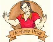 Gaston 'No-Belle Prize'-  8x8 inch print