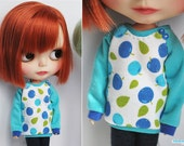 Sweet Berries sweater for Blythe