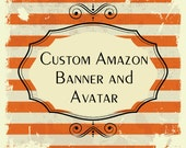 Custom Amazon Handmade Shop Banner and Avatar