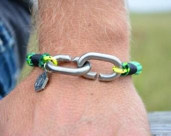 SALTI Nautical Rope Bracelet 'CC-LINK'  Free Worldwide Shipping Mens