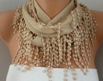 Camel Scarf  Pashmina Spring Winter Accessories Mother's Day Gift  Bridesmaid Gift For Her Women Fashion Accessries - fatwoman