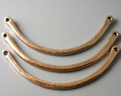 CHARM-CP-CR-47MM - Linking Curved Bars, Antique Copper Plated, 4 pcs