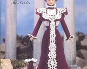 "The Bridal Trousseau Collection - Miss October - Annie's Attic Crochet Pattern Leaflet for 11 1/2"" Fashion Doll New Condition"