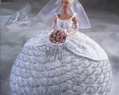 "The Bridal Belle Collection - Miss April - Annie's Attic Crochet Pattern Leaflet for 11 1/2"" Fashion Doll New Condition"