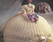 "The Bridal Belle Collection - Miss June - Annie's Attic Crochet Pattern Leaflet for 11 1/2"" Fashion Doll New Condition"
