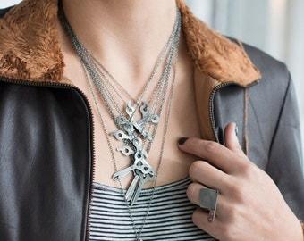 Shear Charm Necklace