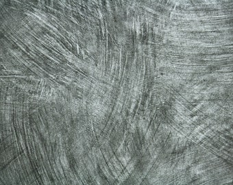 Retro Wallpaper by the Yard 70s Vintage Wallpaper - 1970s Brushed Stainless Steel Faux Finish Slate