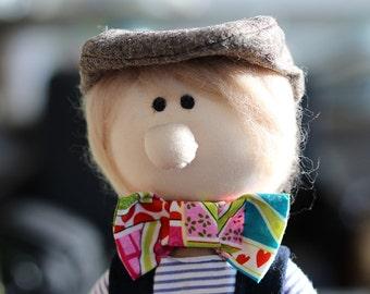 Pierre  Back to School Doll, Cloth Doll