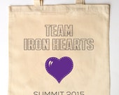 Race Team Custom Printed Family Tote Bag Personalized with your team info