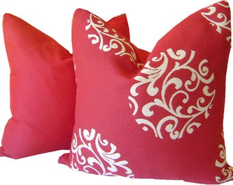 Amazing Red Outdoor Pillows   Red Decorative Pillow   Sunbrella Pillow   Outdoor  Sofa Cushion   Red