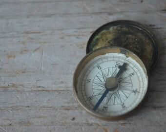 Small Antique Compass