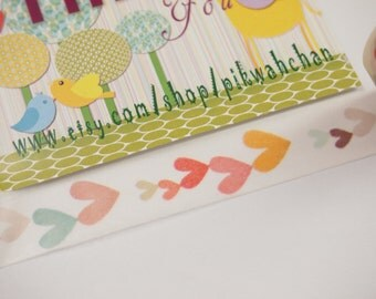 Sweet Heart Washi Tape (10M)