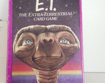 E.T. The Extra Terrestrial Card Game - 1982 Parker Brothers