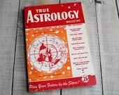 True Astrology Magazine, October November 1950 Issue, Libra Scorpio Sagittarius 65th Birthday, 65 years old