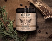 Mens Beard Cream Balm Wild Man THE ORIGINAL Grooming Gift For Him 113g // 4oz