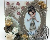 Handmade Greeting Card, Princess