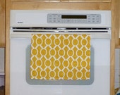 Yellow Kitchen Hand Towel - Sydney Yellow Decorative Kitchen Towel
