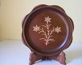 Walter Stahli Wood Plate      Switzerland