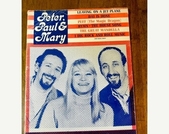 ON SALE Vintage Songbook, Peter Paul & Mary, Warner Bros. Music