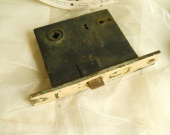 Vintage Skeleton Key Door Lock Antique Door Hardware House Restoration Door Supplies