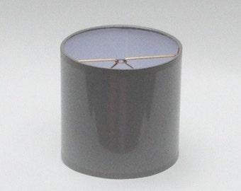 High Gloss Gray Lamp Shades