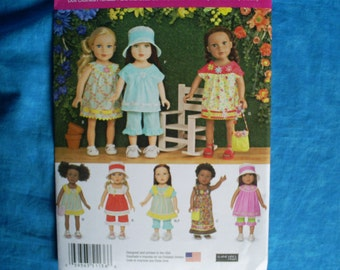 simplicity 1136 for 18 inch doll clothes.