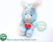 Vintage Care Bear Cousins Plush: Swift Heart Rabbit 14 inch