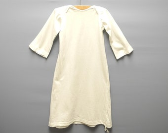 Vintage Baby Clothes, 1950's Handmade Ivory Baby Layette, Vintage Baby Layette, Vintage Cotton Baby Layette, Size 12-18 Months