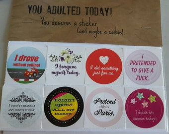 Diane's Custom Adulting Stickers