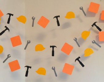 Construction Birthday Decorations - Construction Birthday - Bob the Builder Inspired birthday - Construction Baby shower Decor-Builder Party