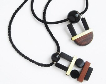 New Arqui necklace with mokuba cord
