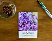 Nature Calendar, Nature Photography, 2016 Calendar, Photography Calendar, Botanic Photography, Flower Photos, Desk Calendar, In the Garden