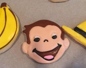 Custom Listing for Stephanie Curious George Cookies handmade by Sprinkles Candy Cake Oh My on Etsy