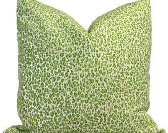 Bonaparte Multi Greens on Tint, China Seas Quadrille Square, Eurosham or Lumbar pillow Accent Pillow, Throw Pillow, Toss Pillow, China Seas