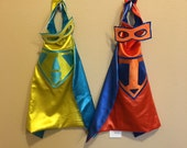 SUPERHERO CAPE SINGLE or Bundles! You choose the colors!