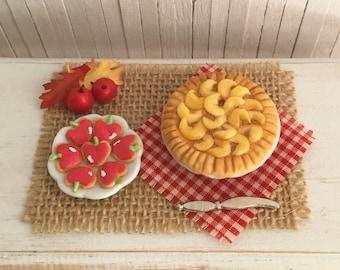 Miniature Apple Pie And Apple Sugar Cookies