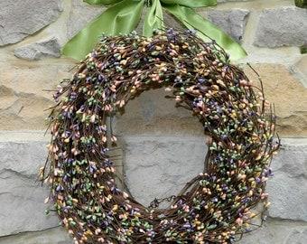 Outdoor Wreath - Multi Wreath - Spring Wreath