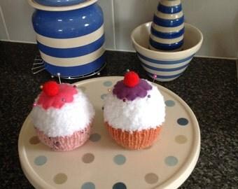 Cup Cake Pincushions