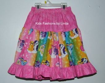 Pink Pony Twirl Skirt