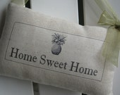 Housewarming Gift, Pineapple, Hostess Gift, Welcome, Home Sweet Home, Abundant Haven, Door Sign, Custom Wedding, Apartment Sweet Apartment