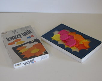 Vintage Kwazy Quilt Puzzle Game