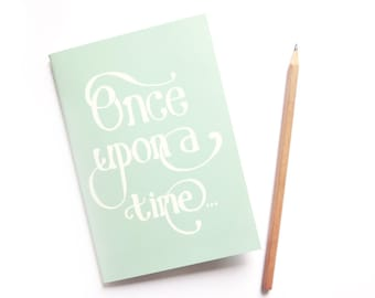 SALE Once Upon a Time A6 Notebook