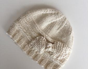Margaret Organic Cotton Baby Hat